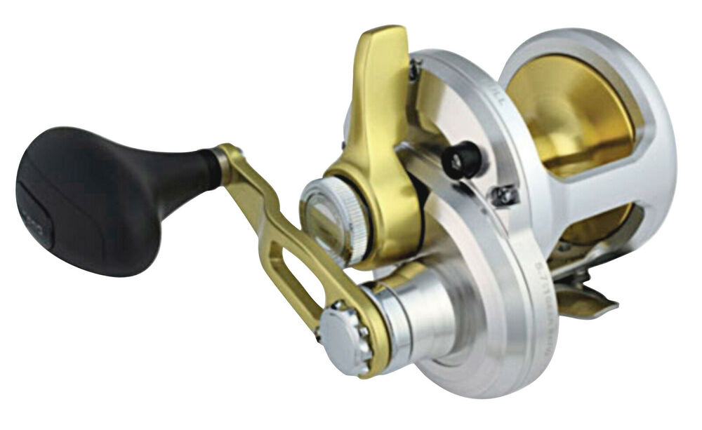 Shimano talica 16 single speed overhead fishing reel brand for Ebay fishing reels shimano