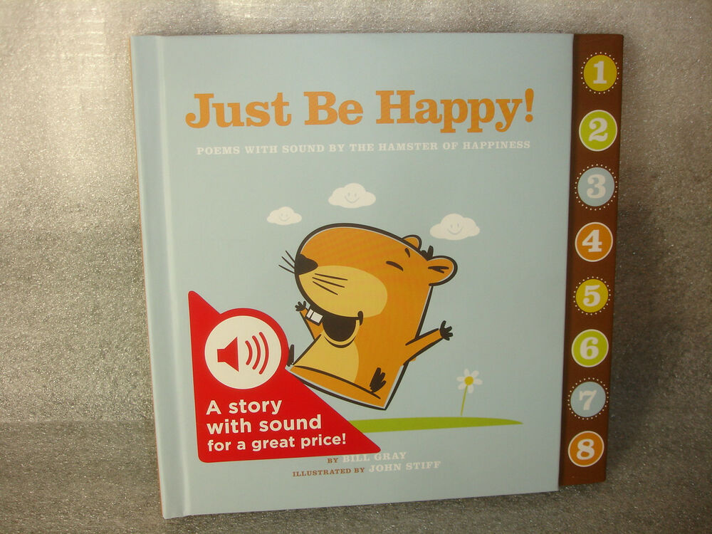 Hallmark Gift Book Just Be Happy Poems Playa Sounds By Hamster ...