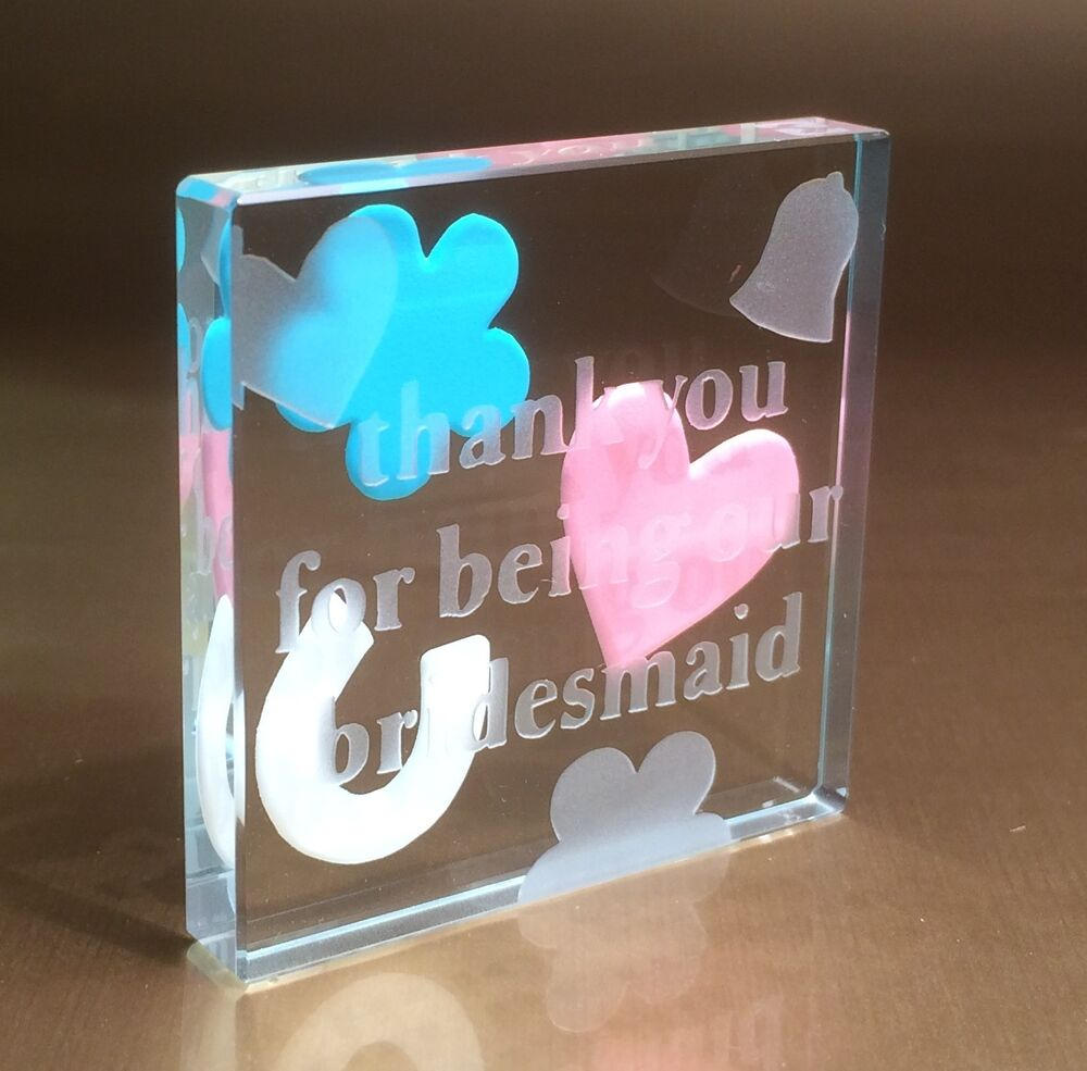 Wedding Gifts For Bride Ebay : ... (Thank You For Being Our Bridesmaid) Wedding Gifts Idea 1154 eBay