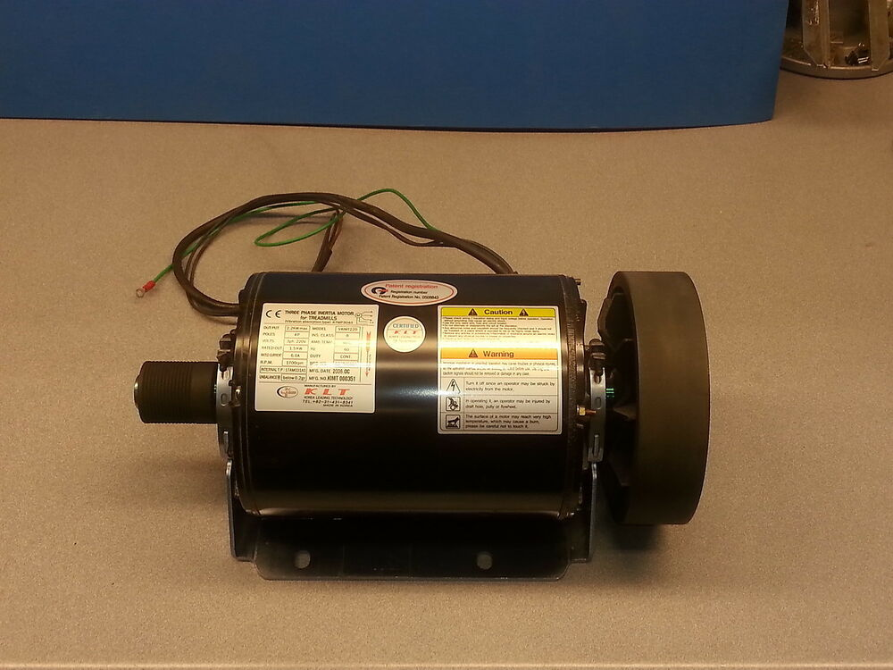 Treadmill motor 2 hp 1 5 kw 240v 3 phase 60hz double ended for 1 hp 3 phase motor