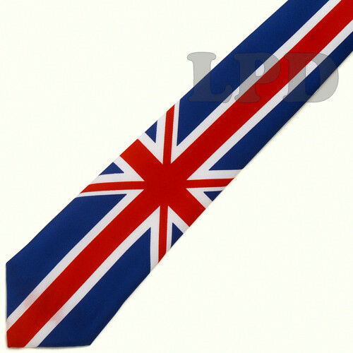 UK Flag Classic TIE Union Jack Flag Necktie United