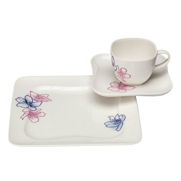 vivo villeroy boch group maui kaffeeset 18tlg fr hst cksteller tasse ebay. Black Bedroom Furniture Sets. Home Design Ideas