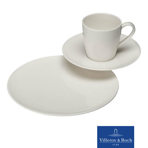 vivo villeroy boch group voice basic kaffeeset 18tlg 6 personen ebay. Black Bedroom Furniture Sets. Home Design Ideas