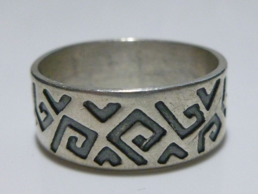 vintage mexico mexican modern sterling silver womens or