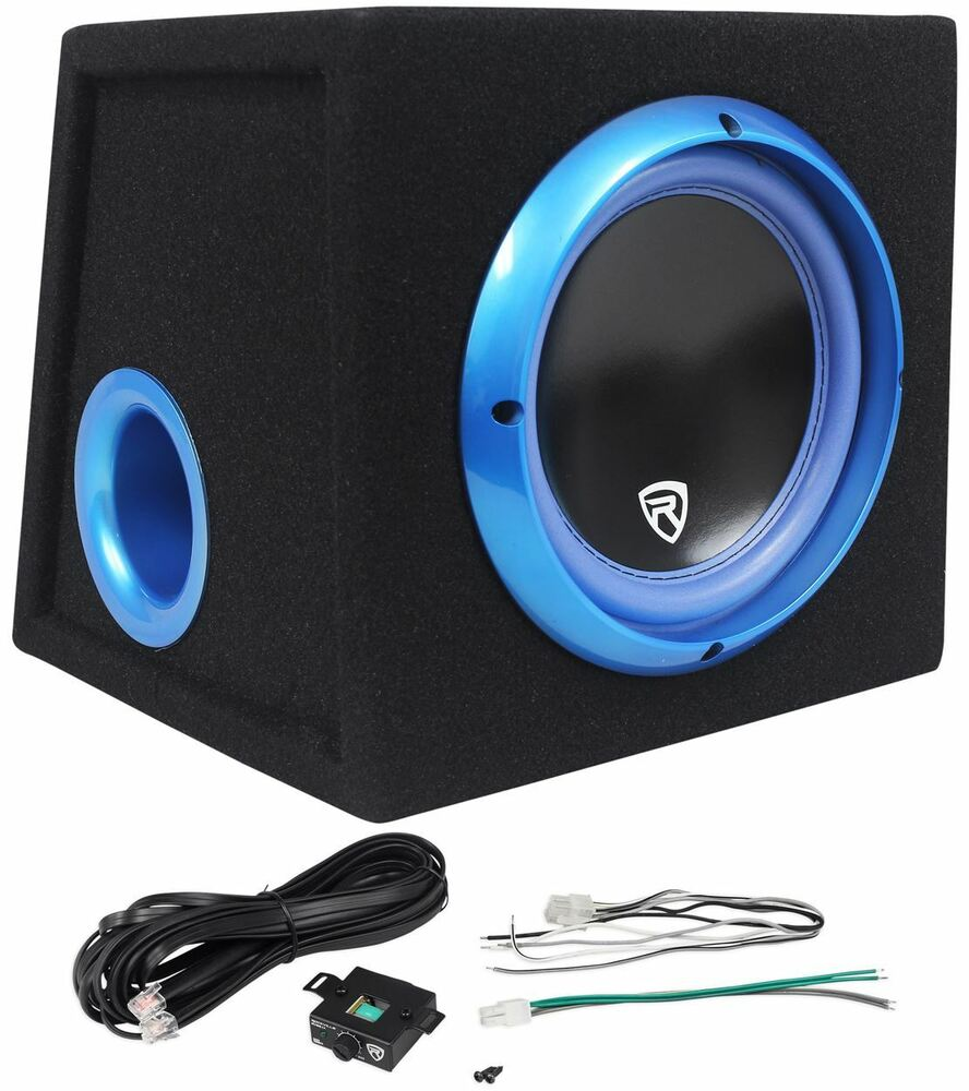 Rockville RVB8.1A 8 Inch 300W Powered Car Subwoofer/Sub
