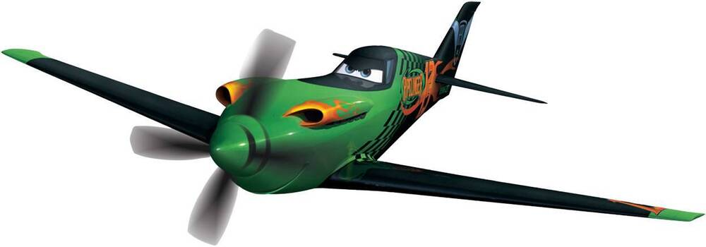 RIPSLINGER Disney Planes Decal Removable WALL STICKER Home ...