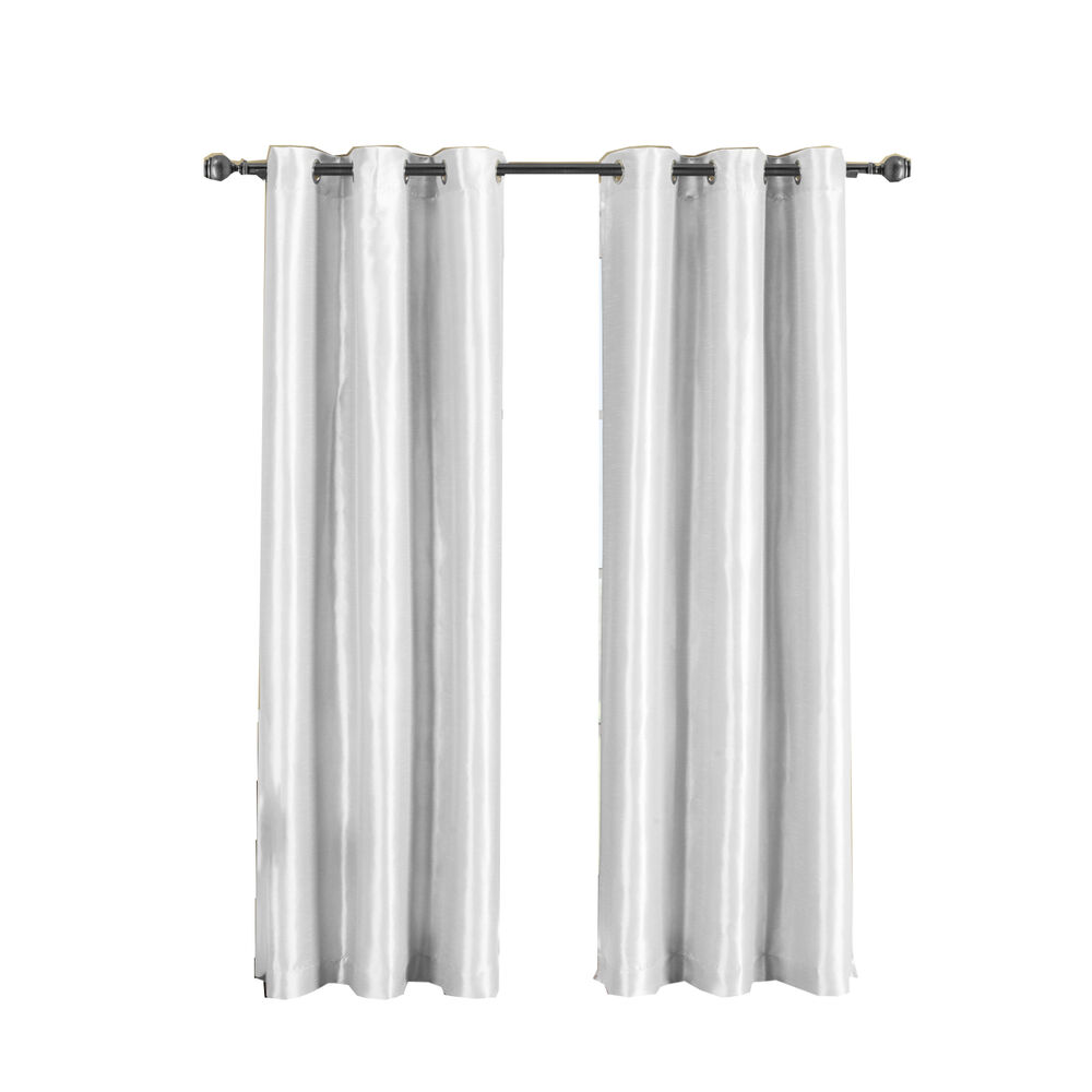 soho grommet solid window curtain single thermal