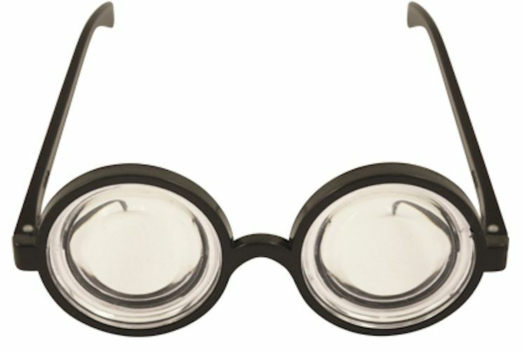 Cheap fancy dress geek glasses