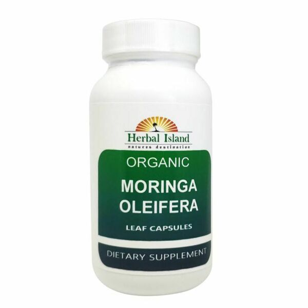 Moringa Oleifera Leaf Powder Capsules 500mg - Organic - Pure-Natural - Free Ship