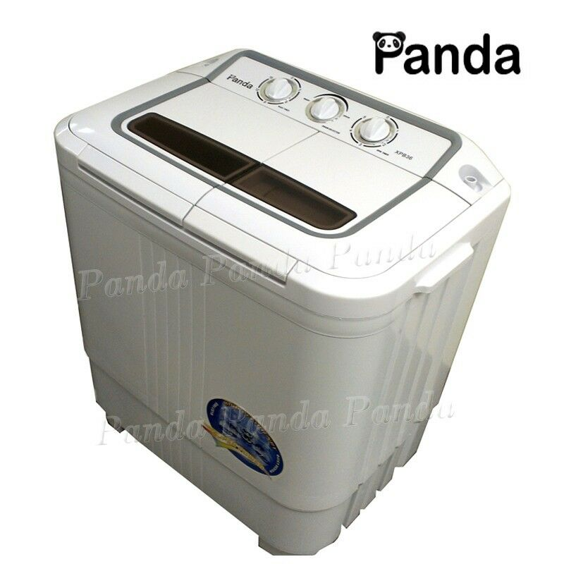 Panda portable mini small compact washing machine washer w spinner xpb36 ebay - Small space washing machines set ...