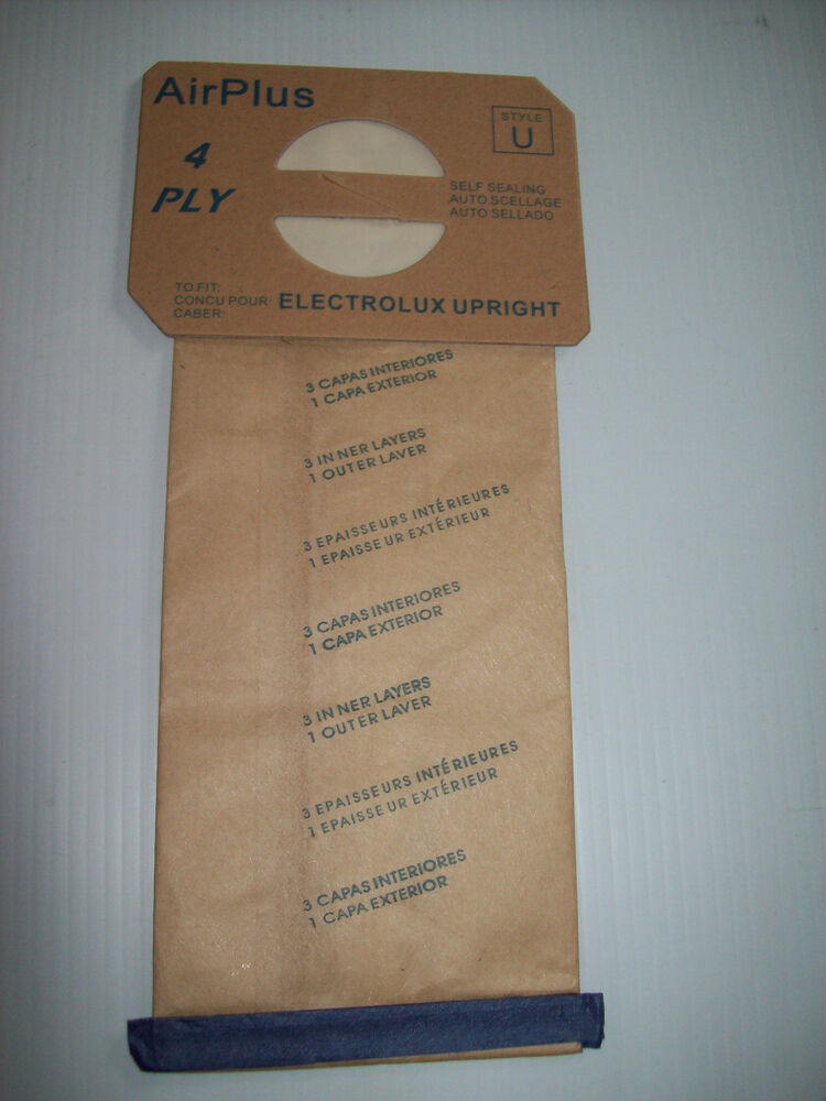 Electrolux Style U Upright Vacuum Cleaner Bag Proteam