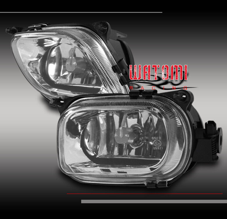96 99 mercedes benz w210 e class bumper fog light chrome for 99 mercedes benz e320