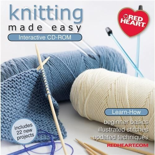 Crocheting Made Easy : Coats Crochet & Floss Knitting Made Easy Interactive CD-ROM - 074695 ...