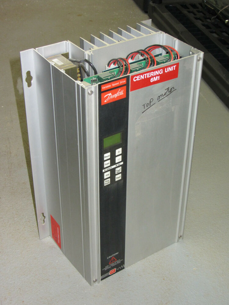 Danfoss Variable Speed Drive 175h1738 3004 Vfd 5hp