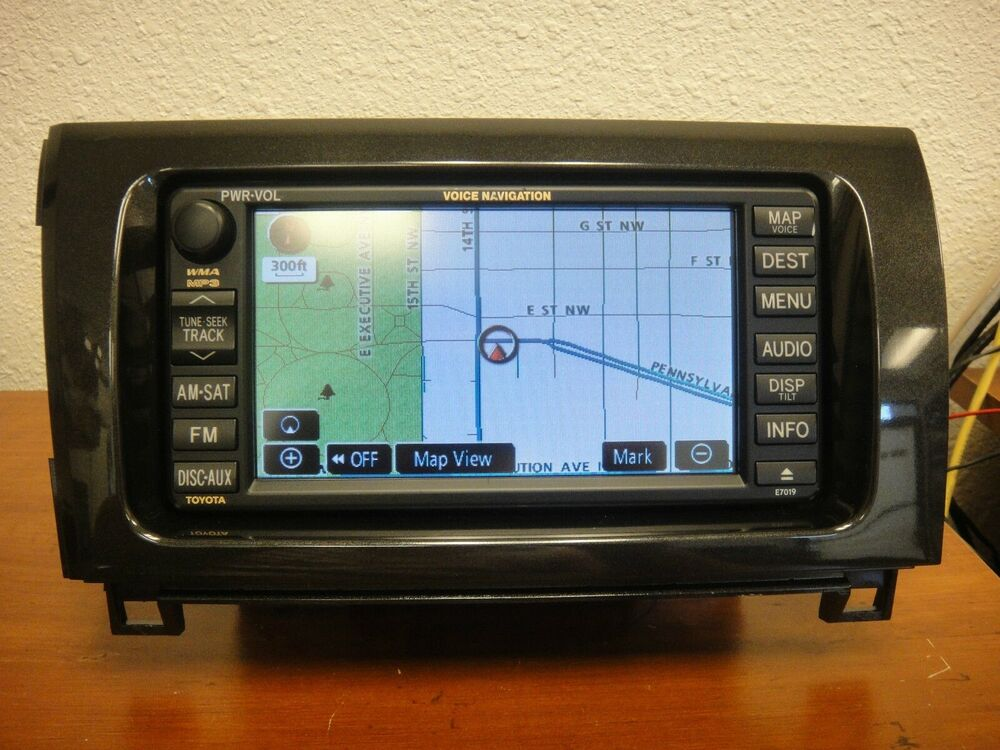 2008 2012 toyota tundra sequoia oem gps navigation system. Black Bedroom Furniture Sets. Home Design Ideas