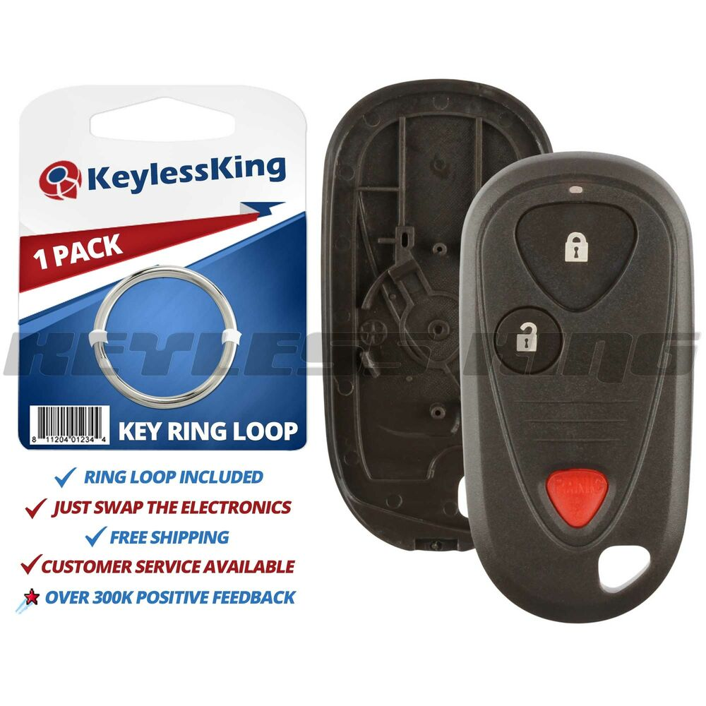 New Replacement Keyless Entry Remote Car Key Fob Shell
