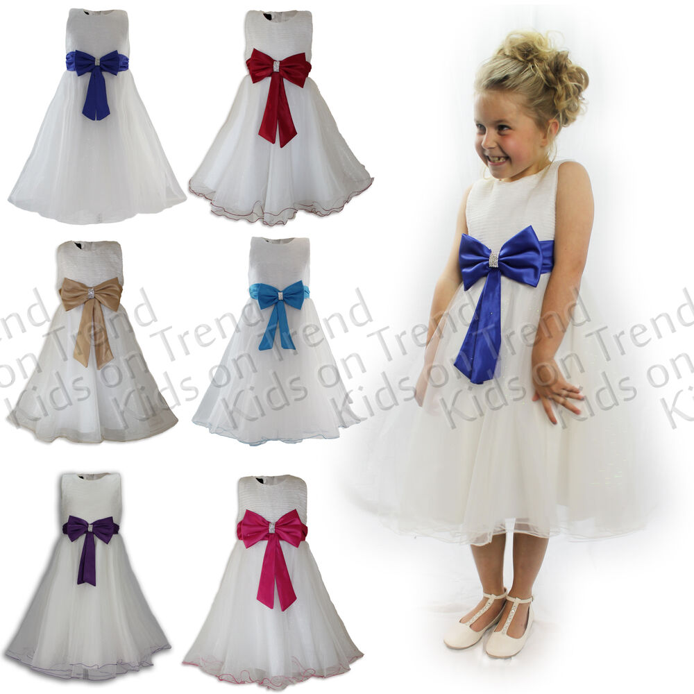 Flower Girl Dress Girls Bridesmaid Dress Party Dress