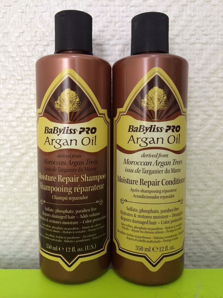 Babyliss Pro Argan Oil Moroccan Argan Trees Shampoo And