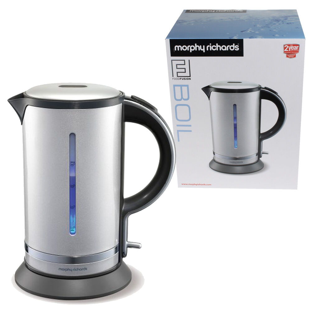 Morphy Richards 750 Watts: Morphy Richards 1.7L Cordless Kettle Jug Food Fusion 2200