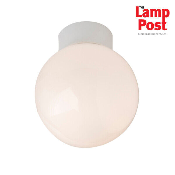 Bathroom Ceiling Light Fitting Globe 60w Ip44 New Robus R60sb Ebay