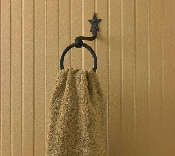 bathroom towel hook ideas black forged bathroom ring towel hook by park 16134