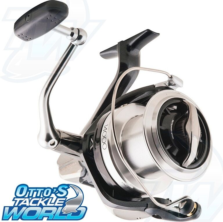 Shimano ultegra 14000 xtc spinning fishing reel brand new for Ebay fishing reels shimano