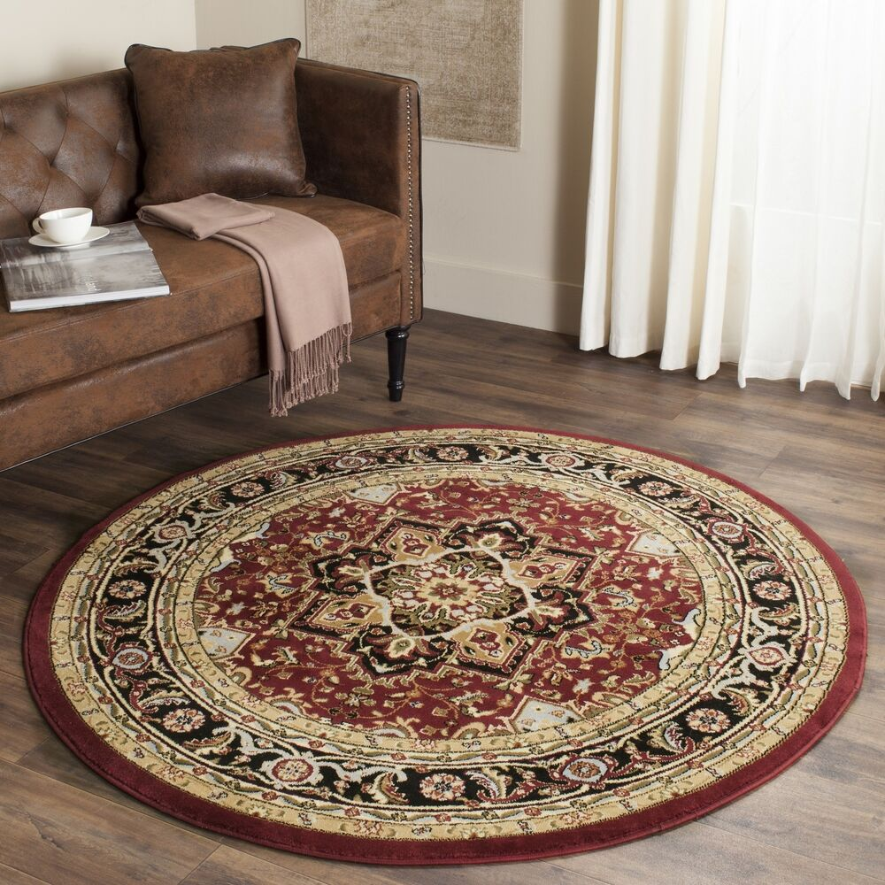 Safavieh Lyndhurst Traditional Oriental Red/ Black Area