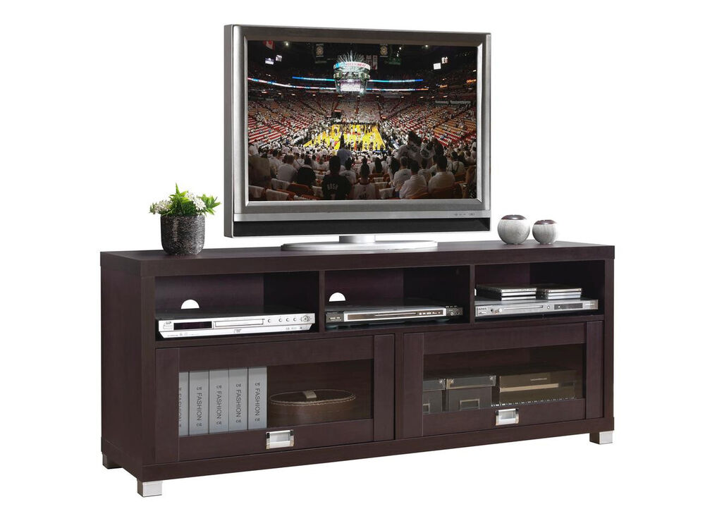 New contemporary durbin tv stand entertainment media centers home theater ebay New home furniture bekasi