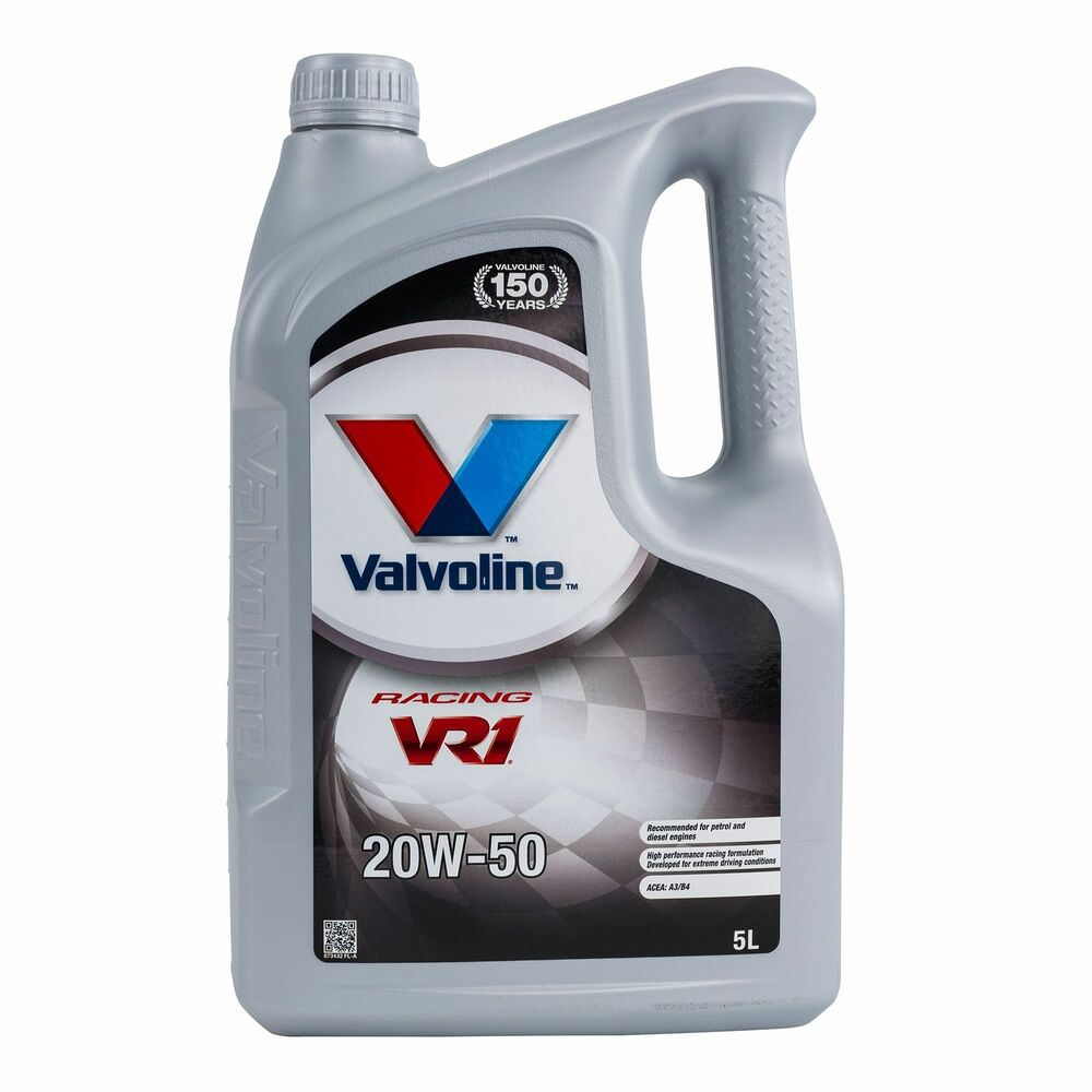 Valvoline Vr1 20w50 Semi Synthetic Mineral Rally Racing