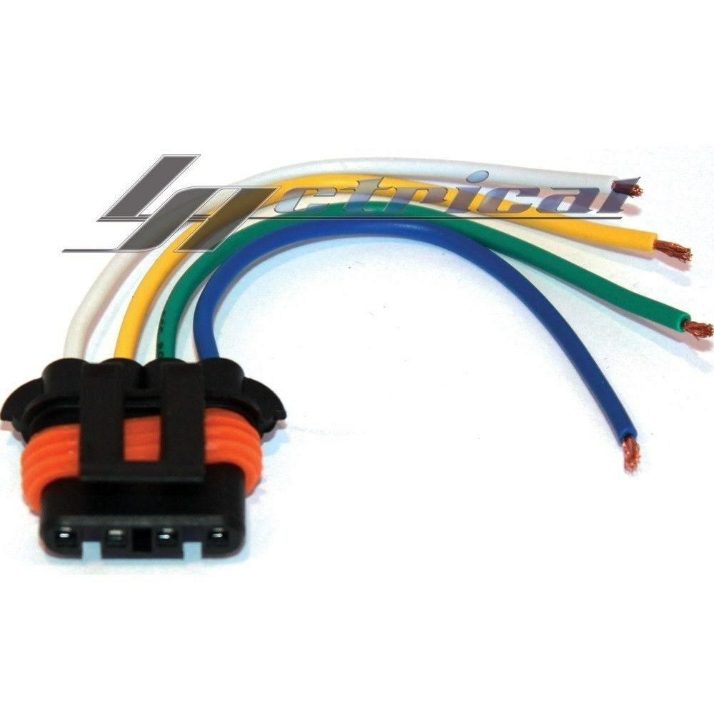 new repair plug harness pigtail connector 4 wire chevy gmc Throttle Position Sensor Automotive Wiring Harness Connectors