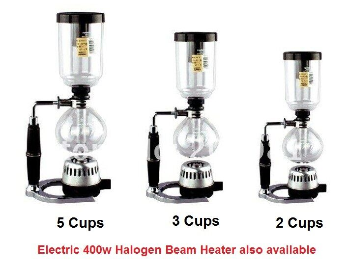 Vacuum Coffee Maker Single Cup : Syphon / Siphon Vacuum Coffee Maker - 3 Cups eBay