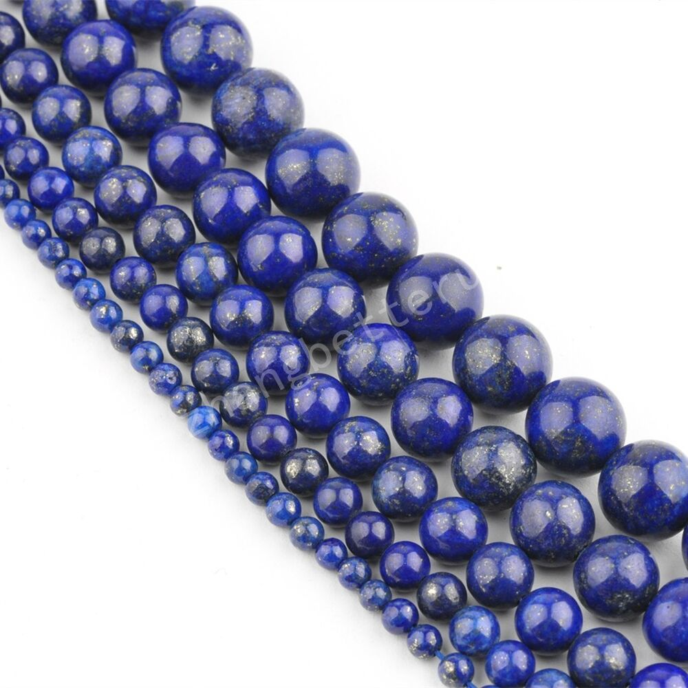 Natural Stone Beads : Natural bead gemstone round loose spacer beads ' strand