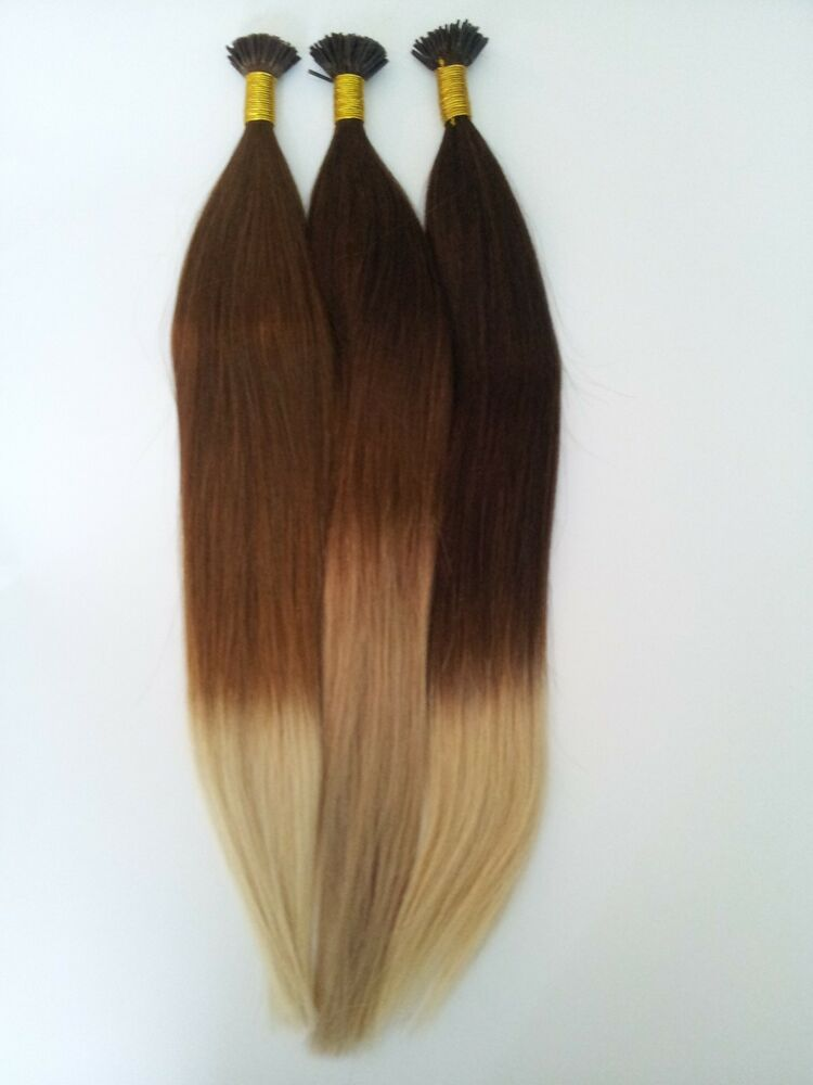 Ombre I Tip Hair Extensions 80
