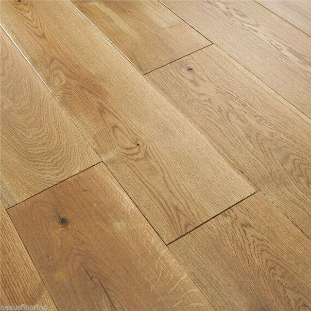 190mm Engineered Wood Flooring Oiled Oak Floor Wide Real