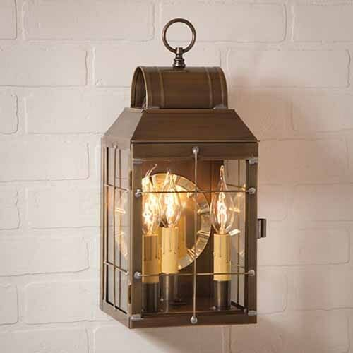 Martha S Exterior Outdoor Lantern Wall Light Fixture In