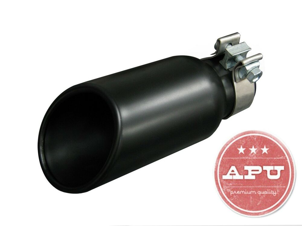 Universal Exhaust Pipe Muffler Tip 2 3 4 Quot Inlet W Clamp