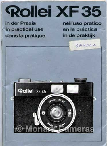 rollei xf 35 compact camera instruction manual  more user rollei action cam 100 user manual rollei 35 user manual pdf