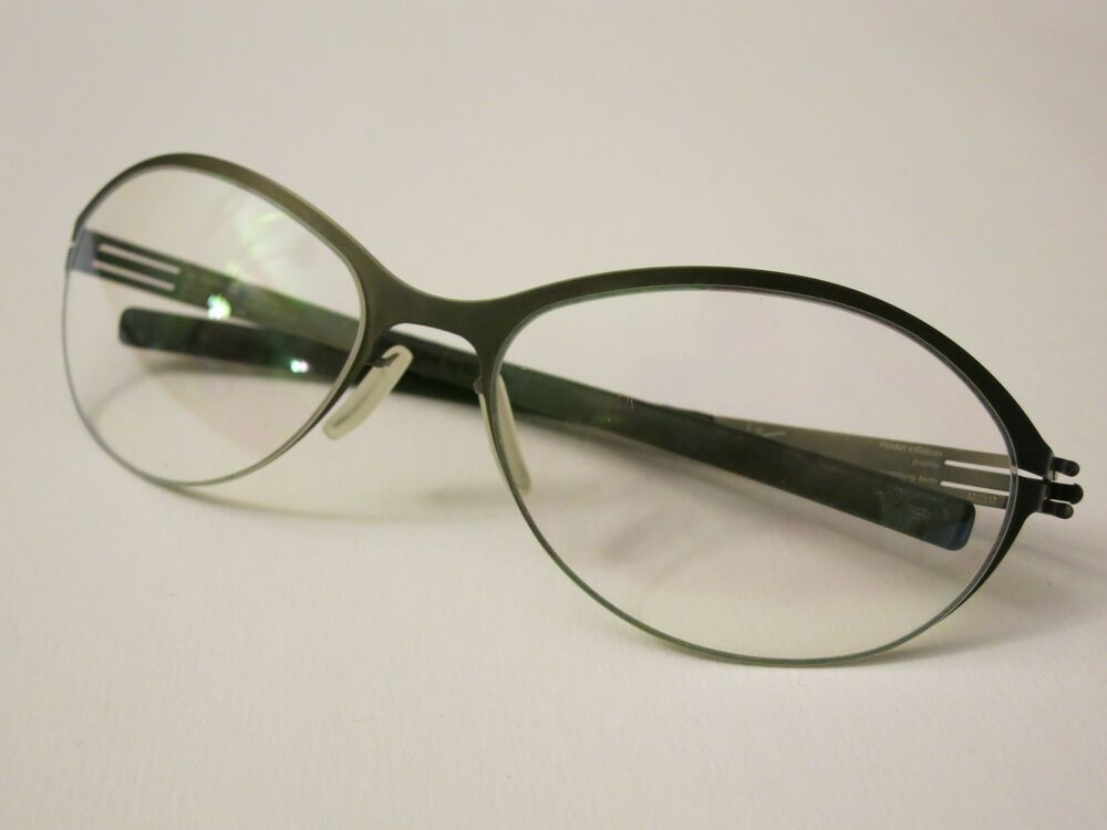 Eyeglasses Frame Made In Germany : IC! Berlin INFLATION Graphite Glasses Eyewear Eyeglass ...
