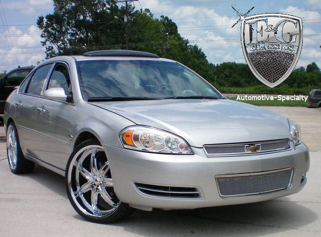 2010 2011 2012 2013 chevrolet chevy impala 2pc mesh grille grill e g ebay. Black Bedroom Furniture Sets. Home Design Ideas