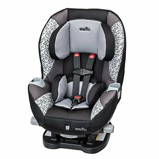 new evenflo triumph lx convertible car seat with up front recline mosaic ebay. Black Bedroom Furniture Sets. Home Design Ideas