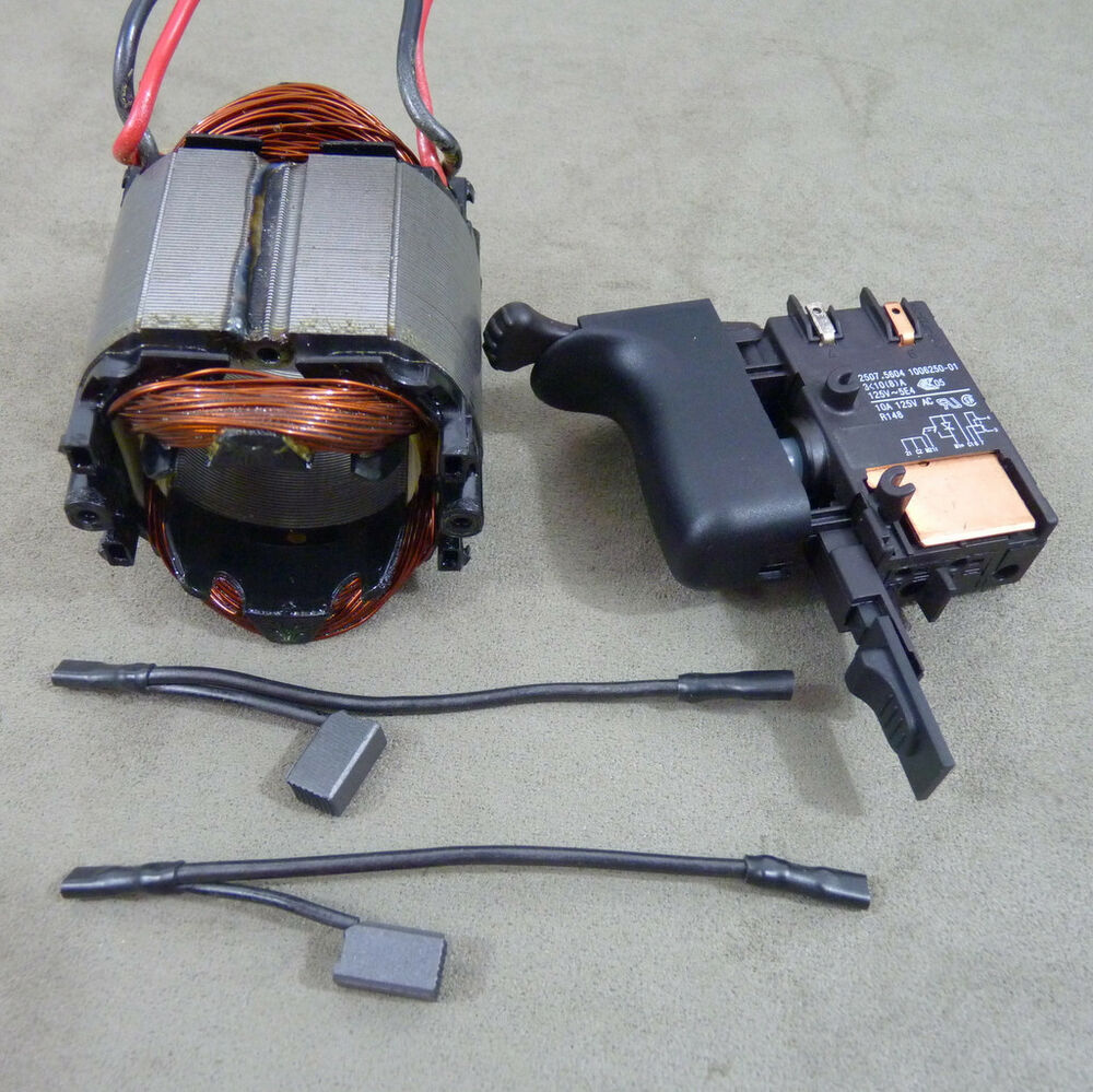 Black Amp Decker 5075 Amp 27205 Hammer Drill Parts Field