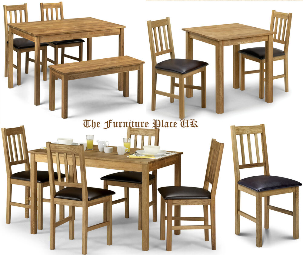 Coxmoor Dining Set Range Chair Table Bench Occasional In