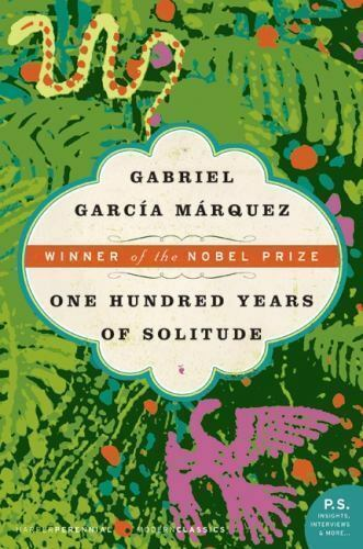 One hundred years of solitude by gregory rabassa and gabriel garcia