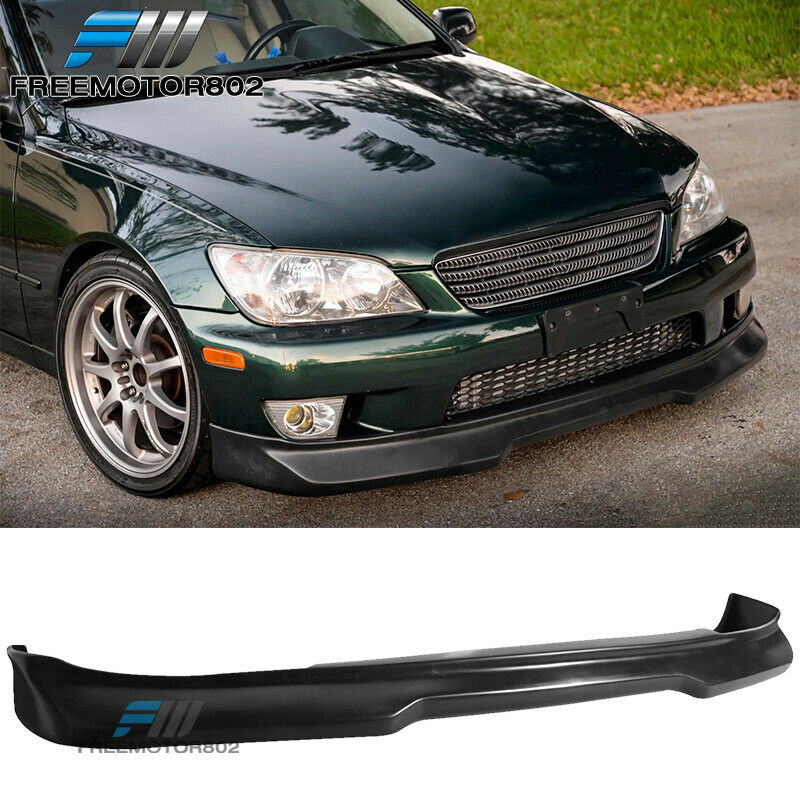 FOR 01-05 LEXUS IS300 SEDAN FRONT BUMPER LIP SPOILER
