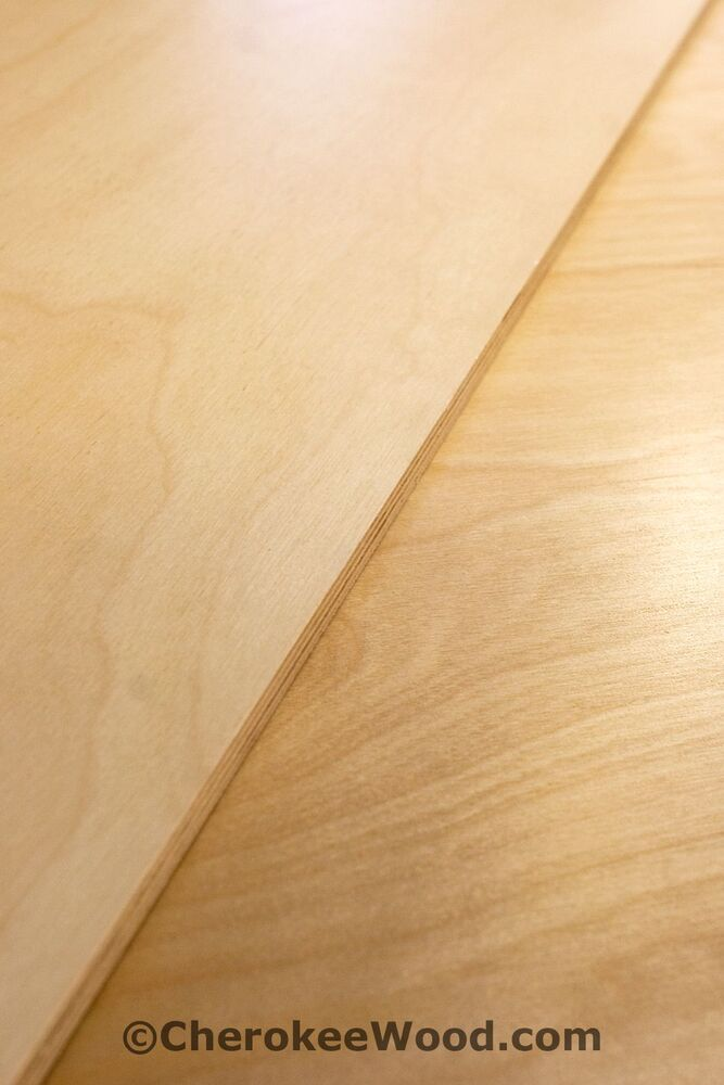 Baltic Birch Plywood ~ Pre finished baltic birch plywood pieces quot