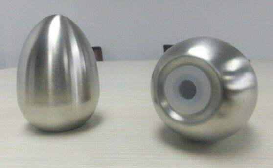 Egg shaped stainless steel salt and pepper shakers free epacket shipping ebay - Egg shaped salt and pepper shakers ...