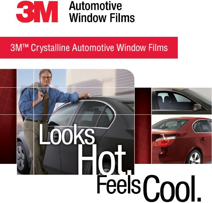 3m Crystalline 40 90 Vlt 30 Quot X 78 Quot Automotive Window