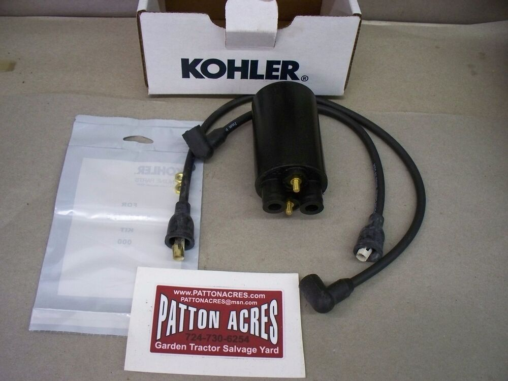 cub cadet kohler ignition coil 52 755 48 s fits 782 682 ebay. Black Bedroom Furniture Sets. Home Design Ideas