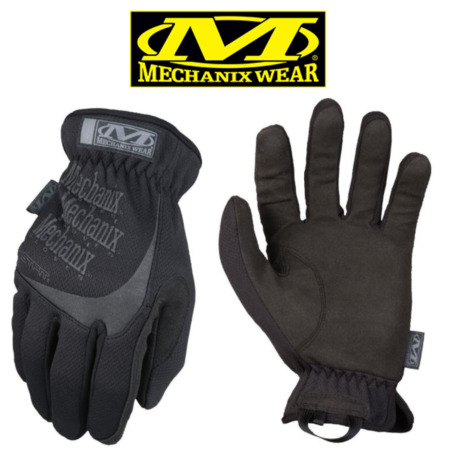 img-Genuine Mechanix Fast Fit Black Covert Gloves all sizes Tactical Fastfit