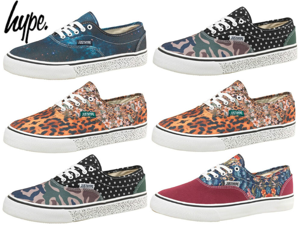 new mens hype footwear canvas shoes plimsolls shoes summer